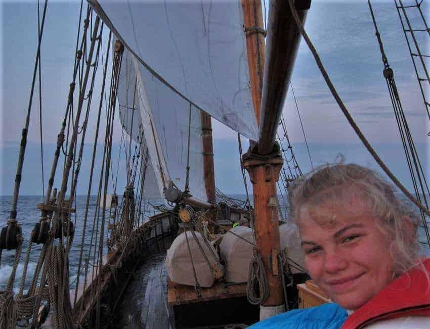 Havssegling fortsättningskollo Segelfartyget Ellen