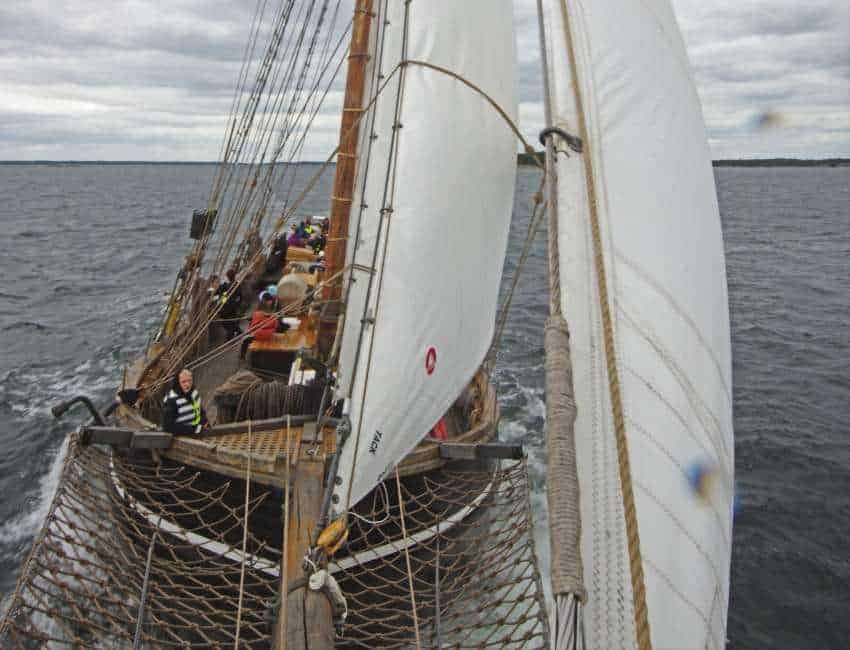 förarintyg på Segelfartyget Ellen