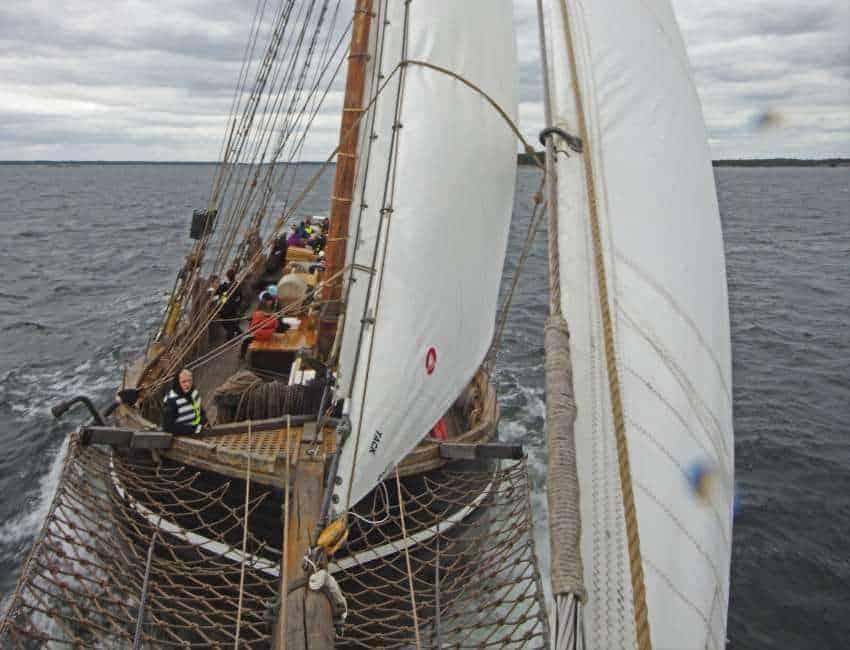Förarintyg i Stockholm på Segelfartyget Ellen
