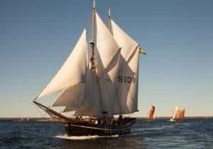 Read more about the article Öppet skepp och allmänna seglingar med segelfartyget Ellen