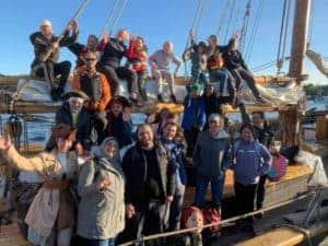 Läs mer om artikeln Familjesegling med Integrationsegling ombord på Segelfartyget Ellen 5 sep